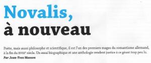 Chronique Magazine Littéraire